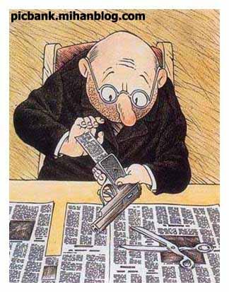 خودکشی | روزنامه | خودکشی با روزنامه | عکس | عکسهای زیبا | کاریکاتور | کارتون | کارتونهای زیبا | کاریکاتورهای زیبا | کاریکاتور کلاسیک | اطلاعات | جهان اطلاعات | خودکشی با اطلاعات | مطبوعات | آزادی مطبوعات | گردش آزاد اطلاعات | کاریکاتورهای زیبای کلاسیک | کاریکاتورخودکشی | آزادی بیان | آزادی قلم | روزنامه نگار | روزنامه نگاران | خودکشی روزنامه نگاران | آزادی روزنامه نگار | آزادی | روزنامه نگار زندانی | روزنامه نگاران دربند | در بند | کاریکاتورهای معروف | کاریکاتور مشهور | کاریکاتور اجتماعی | طنز اجتماعی | نقاشی | کاریکاتور معنادار | کارتونیست | کاریکاتوریست | کاریکاتوریستهای معروف | کاریکاتورهای پر معنی | نقاشی های معنا دار | عکس های معنادار | معنا دار | عکسهای پرمعنی | بامعنی | با معنی | با معنا | تصویر زیبا | تصاویر معنا دار | تصاویر زیبا | نگارخانه | آرشیو عکس و تصویر | پیک بانک | پیکبانک |