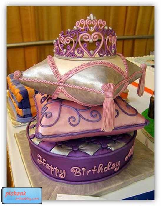 عکس کیک تولد عجیب و غریب